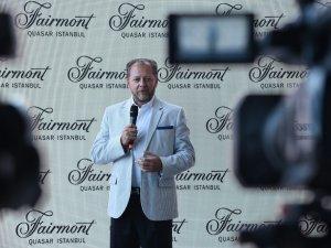 """Studio Sky"" Fairmont Quasar Istanbul'da hizmete girdi"