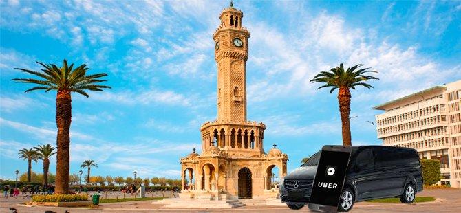 Uber Taksi 1 Temmuz'da İzmir'de başlıyor!