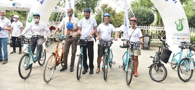 İstanbul'un Geleceği, İklim Değişikliği Ve Sürdürübilirlik İçin Pedal Çevirdiler