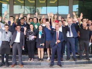 Dedeman Tokat Hotel Genel Müdürü Serdar Küçükyıldız'a Veda