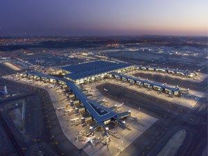 """İstanbul Havalimanı, 2050'ye Kadar """"Sıfır Emisyon"""" Taahhüt Ediyor"""