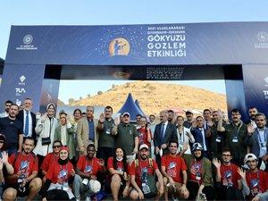 Uluslararası Diyarbakır Zerzevan Gökyüzü Gözlem Etkinliği Sona Erdi
