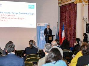 Fransızca Çeviri Ödül töreni Fransa Sarayı'nda yapıldı