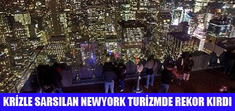 NEWYORK'A 47 MİLYON TURİST GELDİ