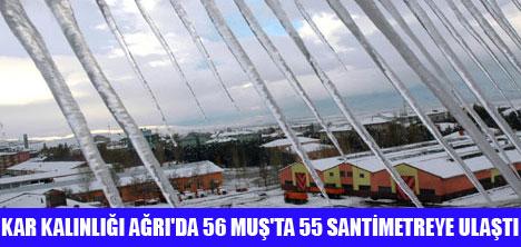 DOĞU'DA 666 KÖY YOLU KAPANDI