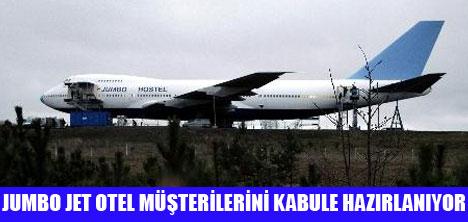 747 BOEİNG OTELE DÖNÜŞTÜRÜLDÜ