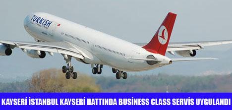 THY'DE TÜM SEFERLER BUSİNESS CLASS