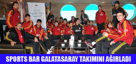 GALATASARAY'IN GÖZDE TRİBÜNÜ AQUARIUM!