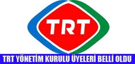 TRT'DE YENİ İSİMLER