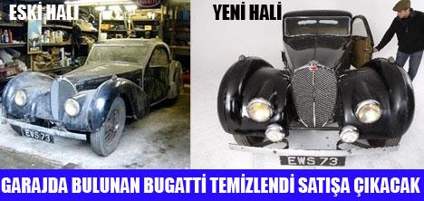 1937 MODEL BUGATTİ SATIŞA ÇIKIYOR