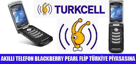 BLACKBERRY PEARL FLİP PİYASA'DA