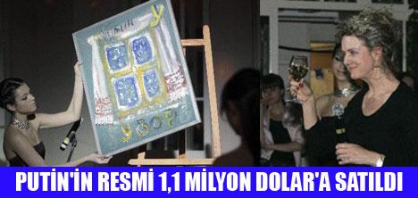 PUTİN'İN RESMİ SATILDI