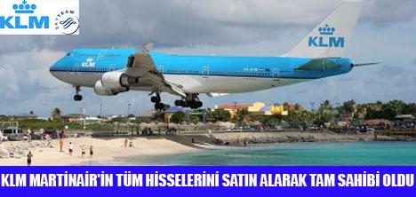 KLM MARTİNAİR'İN TEK SAHİBİ OLDU