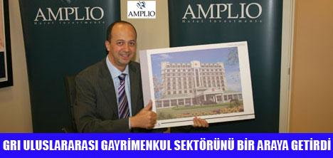 AMPLİO,GAYRİMENKUL ZİRVESİNDE !