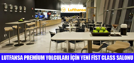 LUTFANSA'DAN  FİST CLASS HİZMET