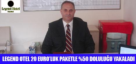 20 EURO'LUK KONAKLAMA PAKETİ