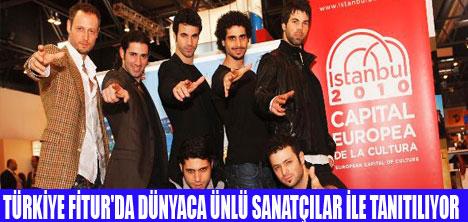 FİTUR'DA TÜRKİYE ŞOVU!