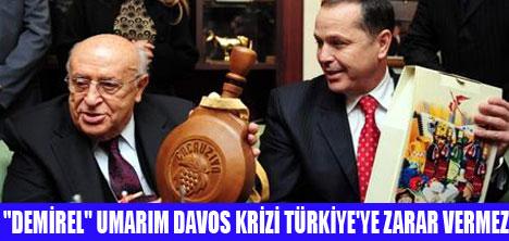 DAVOS KRİZİ BAZI FATURALAR GETİREBİLİR