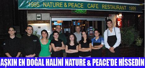 DOĞAL AŞK NATURE & PEACE'DE