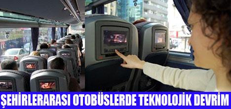 DVD'Lİ VE BOL OYUNLU OTOBÜSLER SEFERDE