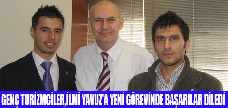 GENÇ TURİZMCİLER'DEN YAVUZ'A ZİYARET