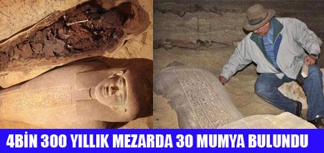 MISIR'DA 30 MUMYA BULUNDU