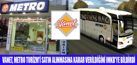 METRO TURİZM VANET'İN