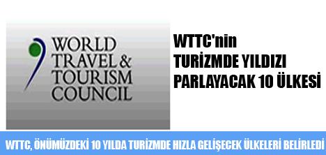 WTTC'nin TURİZMDE EN HIZLI YILDIZI PARLAYACAK 10 ÜLKESİ