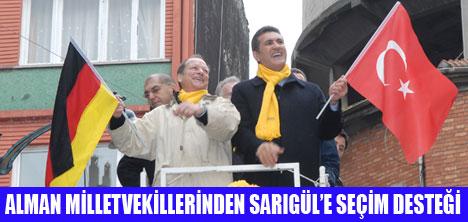 SPD HEYETİNDEN SARIGÜL'E DESTEK