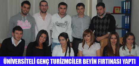 GENÇ TURİZMCİLER ANKARA'DA