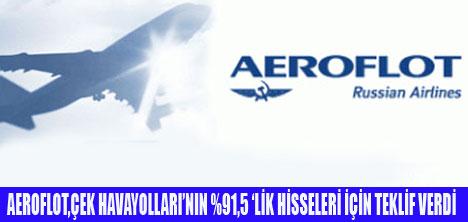 AEROFLOT,ÇEK HAVAYOLLARI'NA TALİP