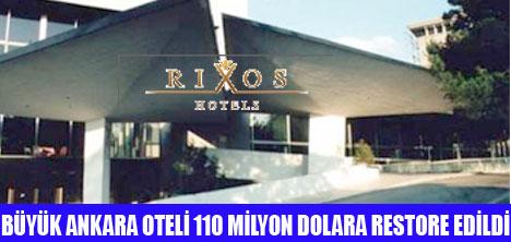 Ankara Oteli Büyük Ankara Oteli Rixos