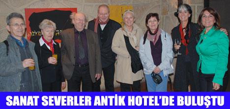 ALMANLARIN ANTİK HOTEL SEVDASI