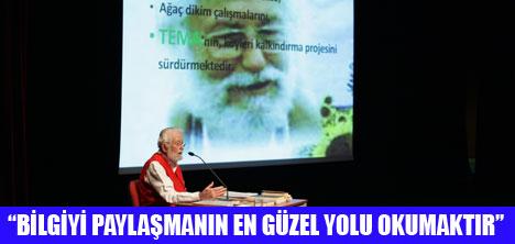 "TOPRAK DEDE"" GENÇLERE SESLENDİ"