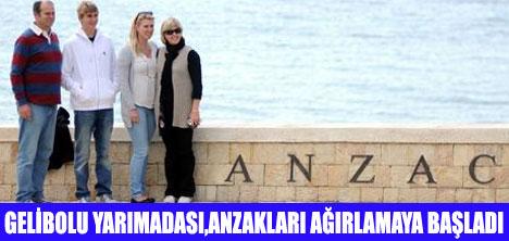 ANZAKLAR GELİBOLU'DA