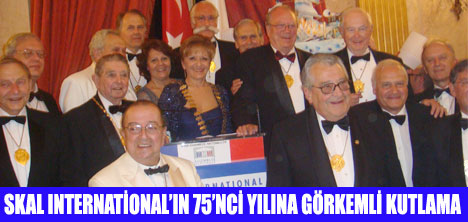 SKAL INTERNATİONAL'IN 75'NCİ YILI FRANSIZ PARLAMENTOSUNDA KUTLANDI