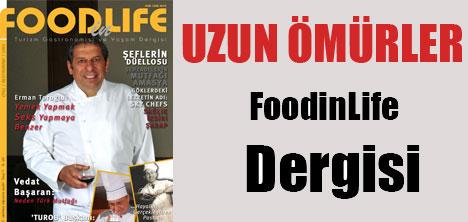 Uzun ömürler FoodinLife Dergisi