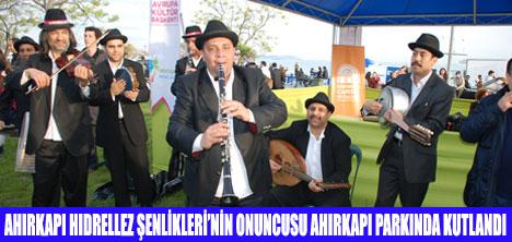 HIDRELLEZ ŞENLİKLERİ KUTLANDI