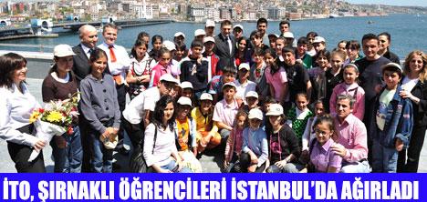 ŞIRNAKLI ÖĞRENCİLER İSTANBUL'DA