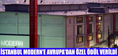 İSTANBUL MODERN'E ÖZEL ÖDÜL