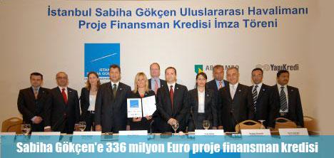 Yeni dış hatlar terminaline  336 milyon Euro