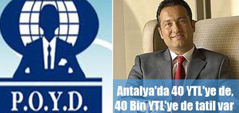 Antalya her gelir grubuna hitap ediyor