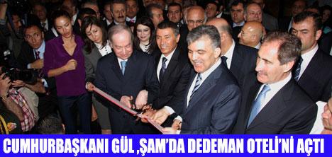 ŞAM'DA DEDEMAN OTELİ AÇILDI
