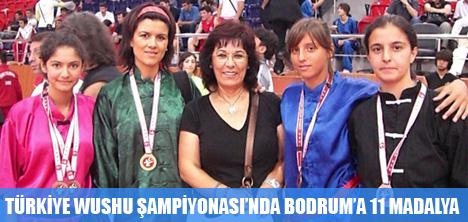 Bodrum'a Madalyalar Yağıyor…