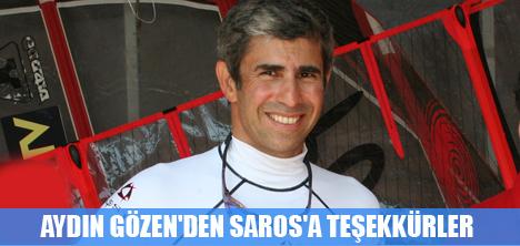 AYDIN GÖZEN'DEN SAROS'A TEŞEKKÜRLER