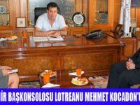 LOTREANU'NUN  BODRUM ZİYARETİ