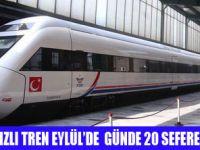 YÜKSEK HIZLI TREN SEFERLERİ ARTIYOR