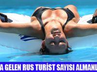 ANTALYA'YA EN ÇOK RUS TURİST GELDİ