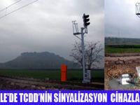 TCDD'NİN SİNYALİZASYON CİHAZI ÇALINDI