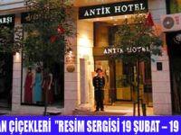 ANTİK HOTEL'DEN  SANATA DESTEK